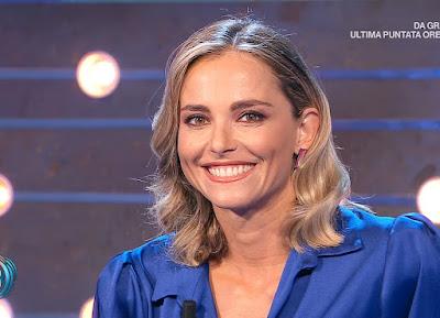 Francesca Fialdini sorriso fossette sulle guance da noi a ruota libera 26 settembre