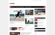 (Free)(Premium) Ivero Blogger Template Themes