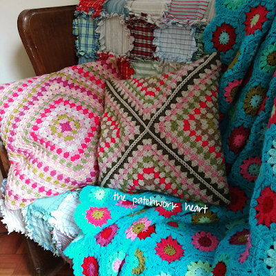 Wrap Around Cushion Cover Tutorial
