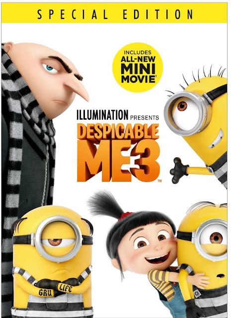 #MerryMinions Christmas with #DespicableMe3 now out on Blu-ray/DVD! #HolidayGiftGuide #HGG #StockingStuffer