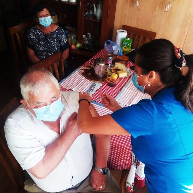 Inoculación en Osorno