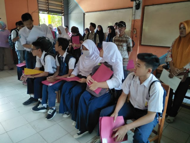 Hari Ketiga PPDB di SMAN 1 Kabupaten Tangerang Berjalan Lancar