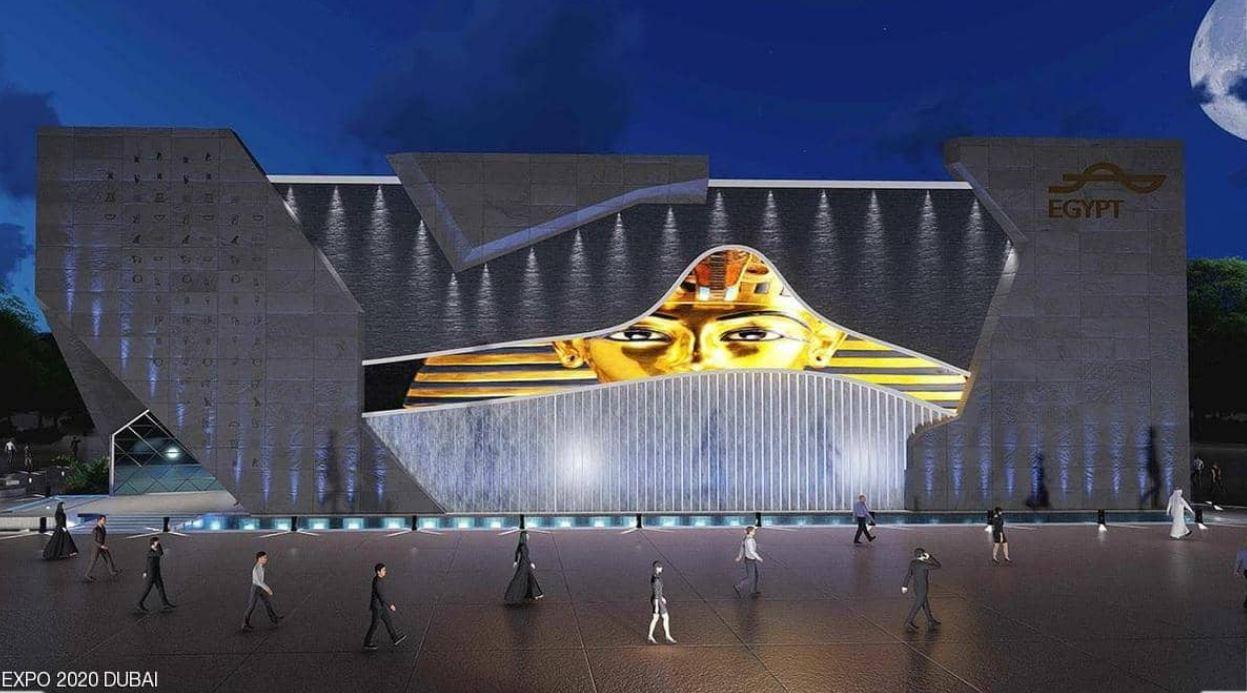 إكسبو دبي Expo Dubai يعرض سحر الحضارة الفرعونية في الجناح المصري المشارك في المعرض