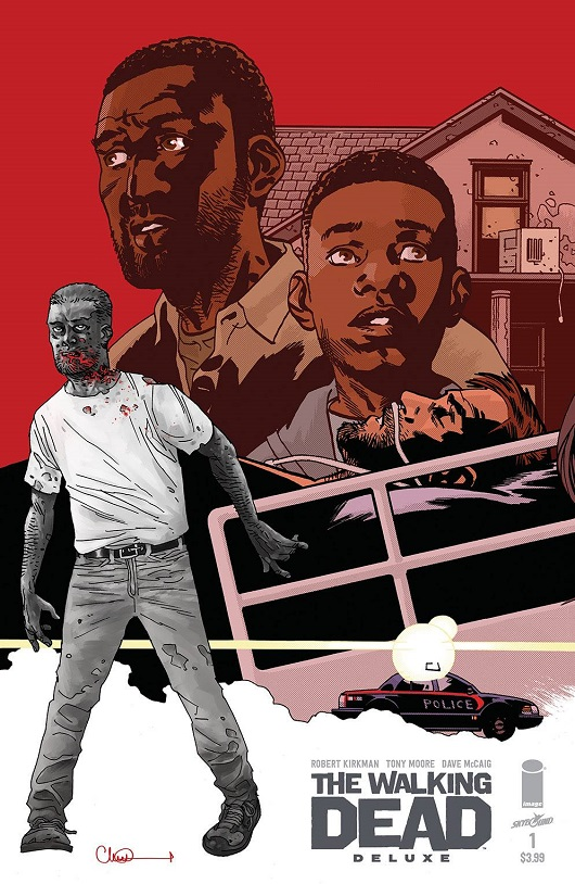 Cover of Walking Dead Deluxe #1