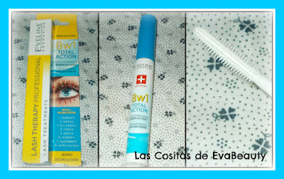 Sérum 8 en 1 concentrado para pestañas de Eveline Cosmetics