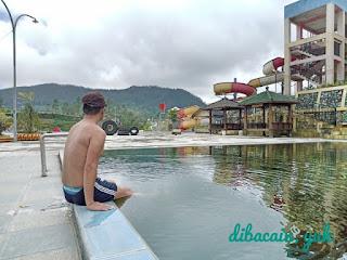 """kesan tak terlupakan di d'qiano hot spring waterpark banjarnegara"""