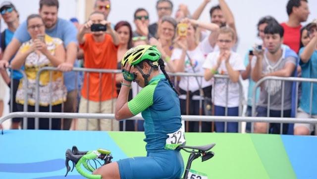 Ciclista brasileira Rio 2016