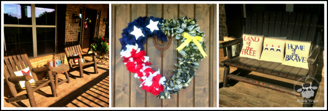 July 4th, Farmhouse Decor, Independence Day Decorations, Farmhouse