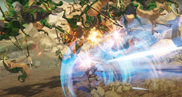 Hyrule Warriors: Age of Calamity snapshot