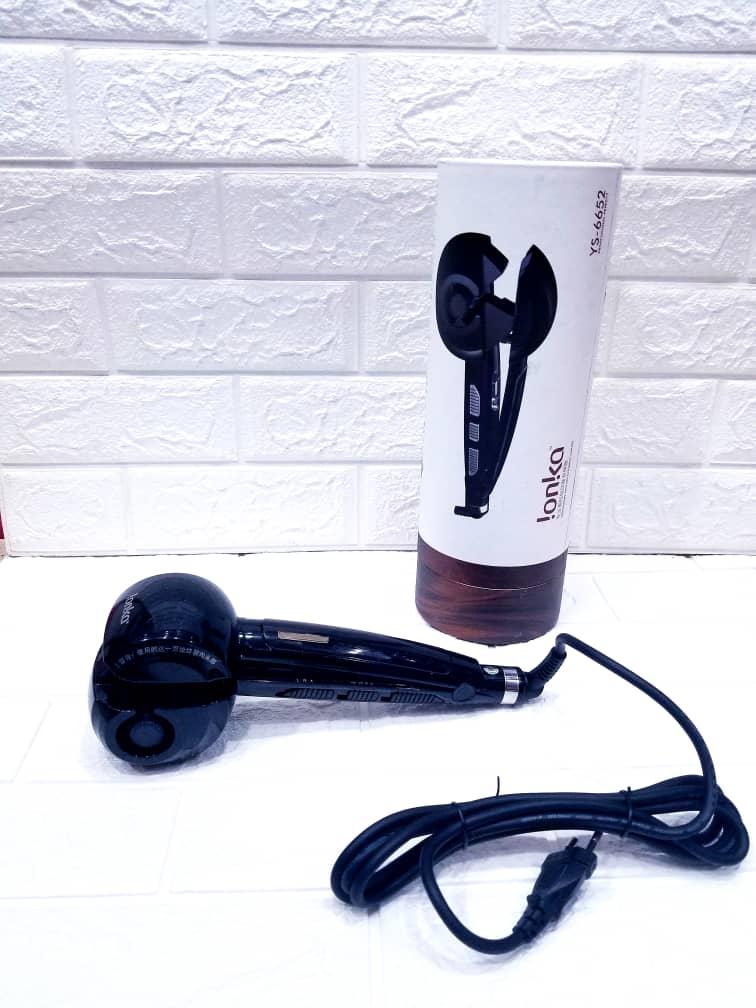 جهاز فير الجديد من شركة Ionka للف الشعر كيرلي والحصول على لوك مميز