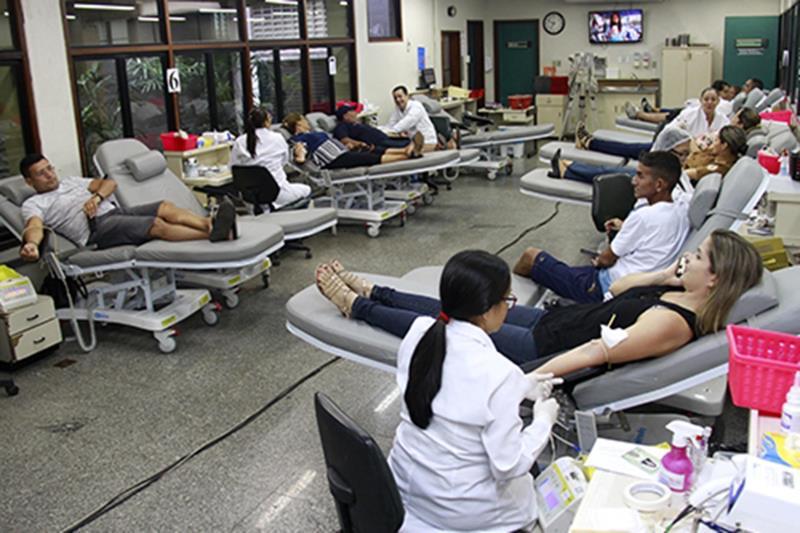 Puxada por Belém, coleta de sangue no Pará volta cair; santareno é o 2º maior doador
