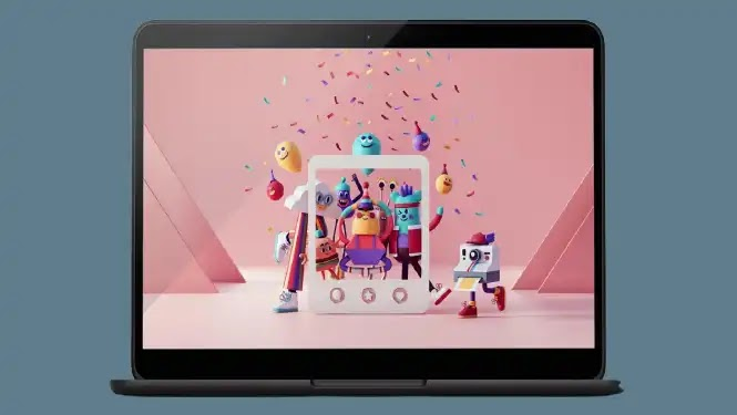 Google brings new imaginary Chromebooks wallpaper collection