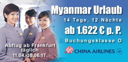 Myanmar Urlaub