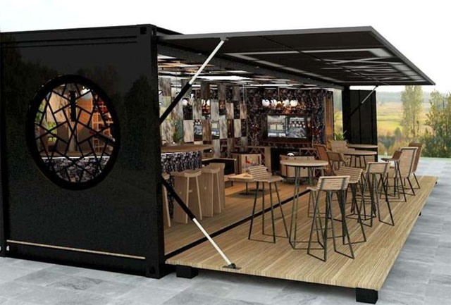 resto dans containers