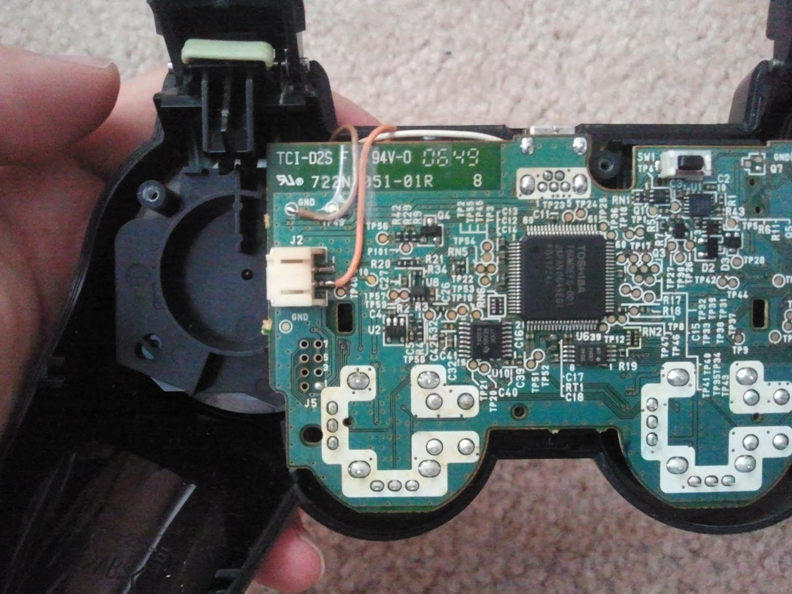 medium resolution of ps3 controller wiring diagram