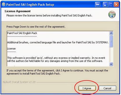 Hướng dẫn cài đặt phần mềm vẽ và tô màu Pain tool SAI