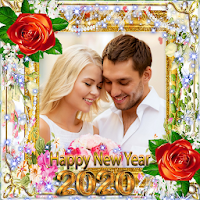 New Year Photo Frame New Year's greetings 2020 Apk free Download