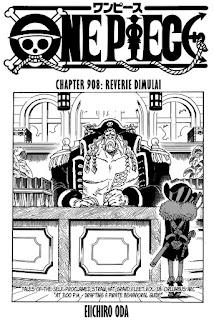 Update! Baca Manga One Piece Chapter 908 Full Sub Indo