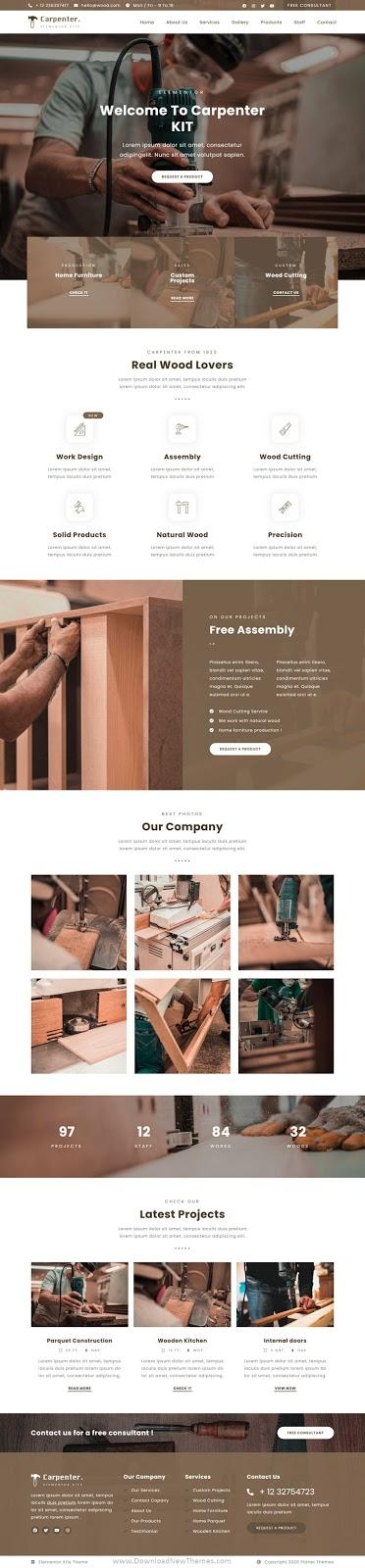 Carpenter Template Kit