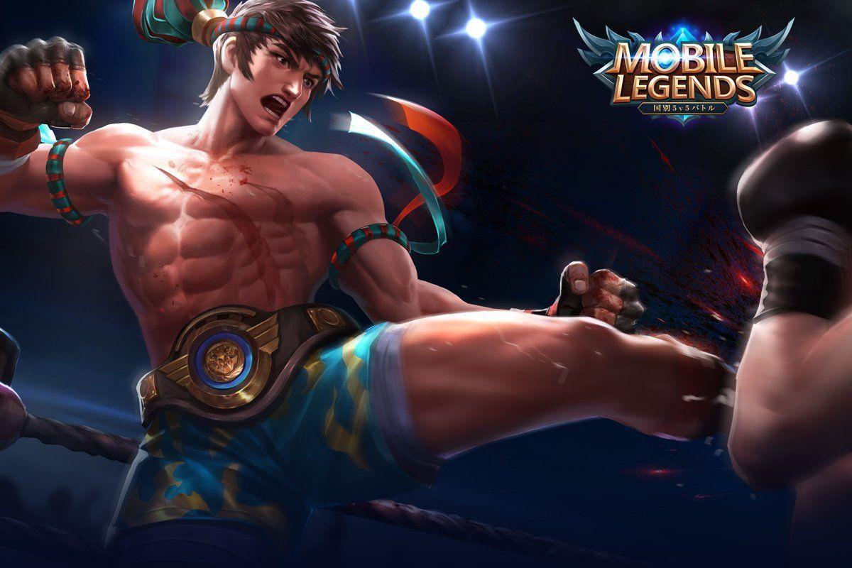 Wallpaper Chou King of Muay Thai Skin Mobile Legends Full HD for PC