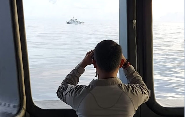 Masuk Laut Natuna, Kapal Coast Guard China Ogah Pergi Meski Sudah Diusir, Klaim Berada di Wilayahnya