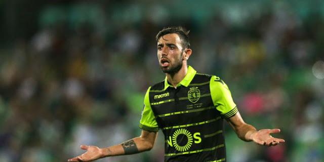Sporting Lisbon Persilahkan MU Tawar Bruno Fernandes