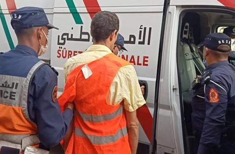 agadirpress  الأمن يضبط متورطا في جرائم سرقة بمدينة مراكش  جريدة أكادير بريس