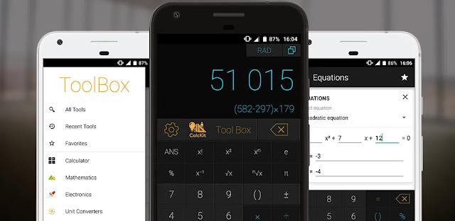 تنزيل CalcKit : All in One Calculator 4.0.0  آلة حاسبة علمية وشاملة لنظام الاندرويد