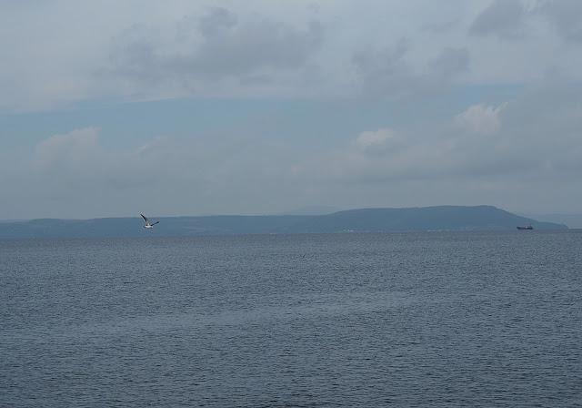 Владивосток - вид на моря с улицы Набережная