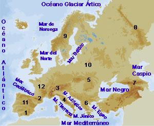 mapa das mares BLOG MAESTRA CONCHA 6º: MAPA DE MARES DE EUROPA INTERACTIVOS. mapa das mares