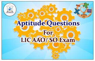 Aptitude Questions (Data Interpretation) for Upcoming AAO/SO Exams Set-35