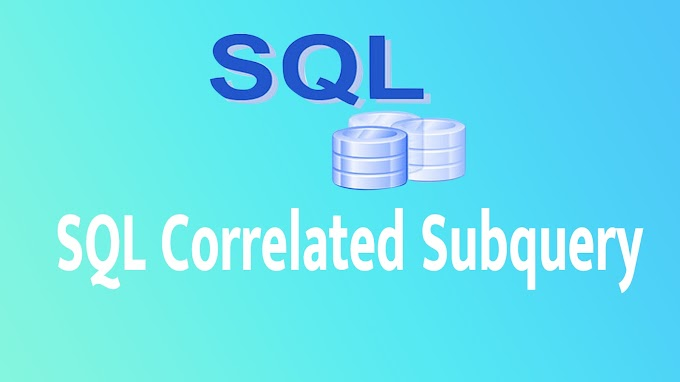 SQL Correlated Subquery