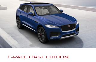 jaguar f-pace allestimento first edition prezzi prezzo