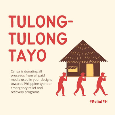 Canva Philippines Donates Proceeds From Paid Images to Aid Typhoon Victims