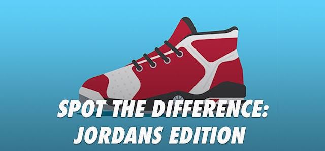 Spot the Difference Jordans Edition Quiz Answers | Quiz Diva