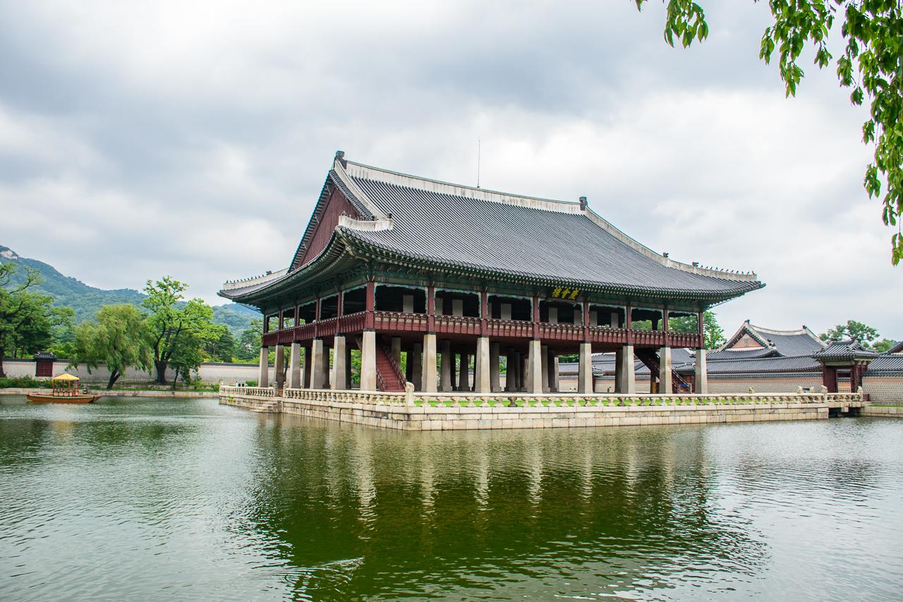 Gyeong bok gung palace in seoul