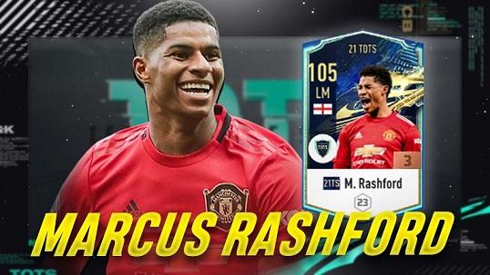 FIFA ONLINE 4   Review Marcus Rashford mùa thẻ 21 TS