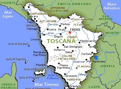 Info per una vacanza in Toscana...Week end ,percorsi,attrazioni