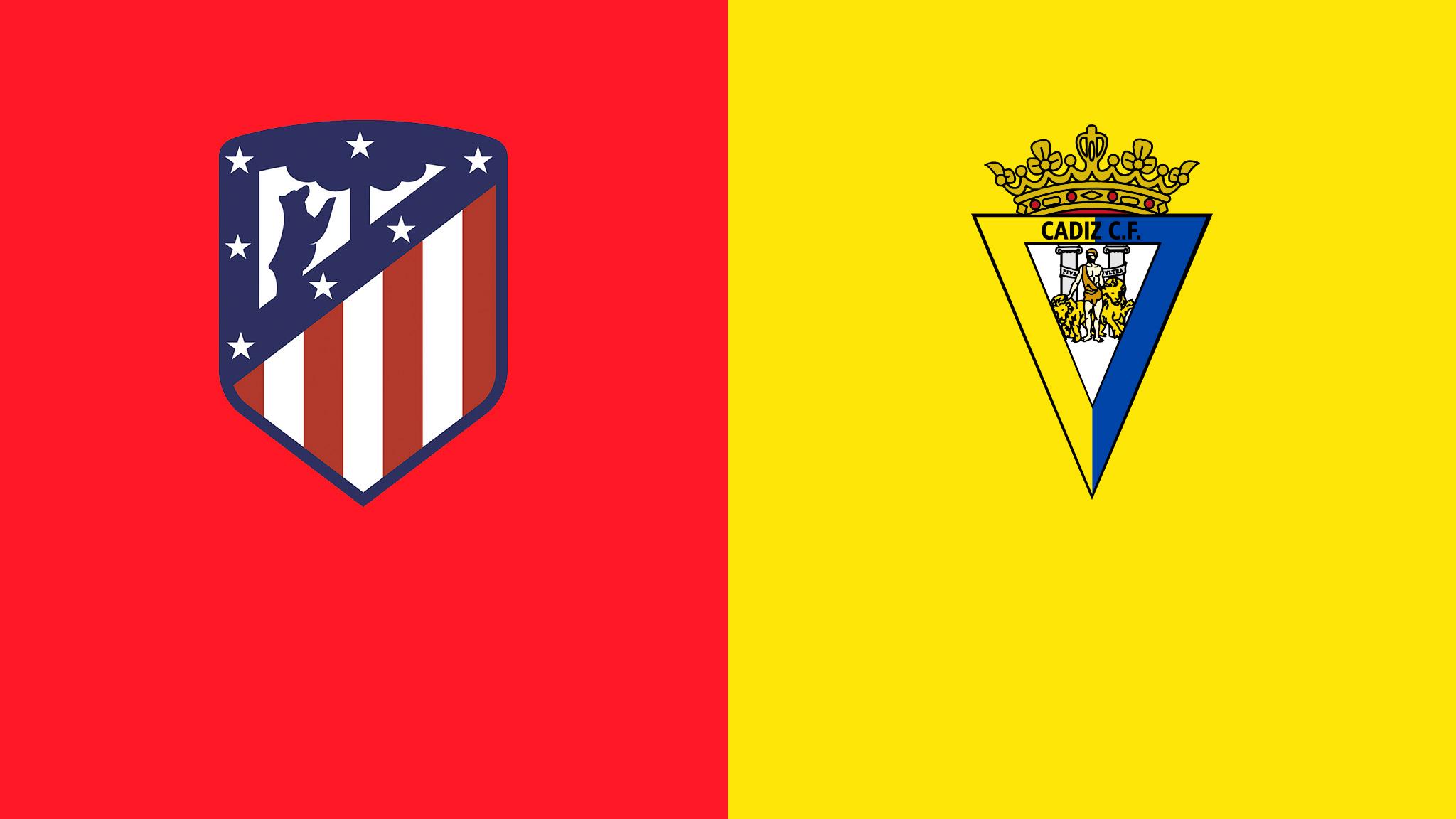 Atletico Madrid - Cadiz Spain - La Liga