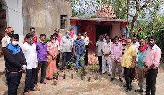 सेवा सप्ताह का हुआ समापन, भाजपा नगर मंडल जुन्नारदेव के कार्यकर्ताओं ने किया वृक्षारोपण