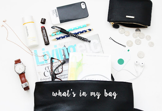Teenfolk: what's in my bag?