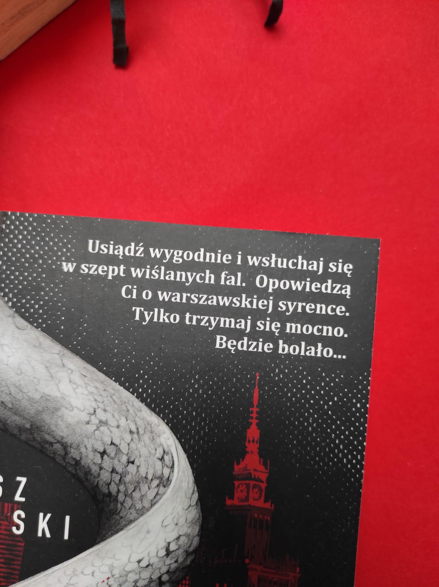 """""""Syrena"""" Mariusz Kaszyński - recenzja - Tania Książka"""
