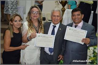 Zé Aldemir e Marcos do Riacho do Meio são diplomados prefeito e vice em solenidade