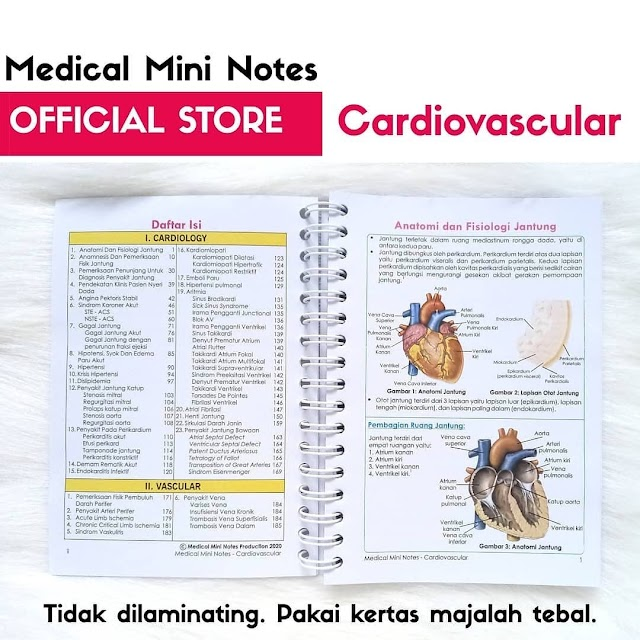"Medical Mini Notes ""Cardiovaskular"""