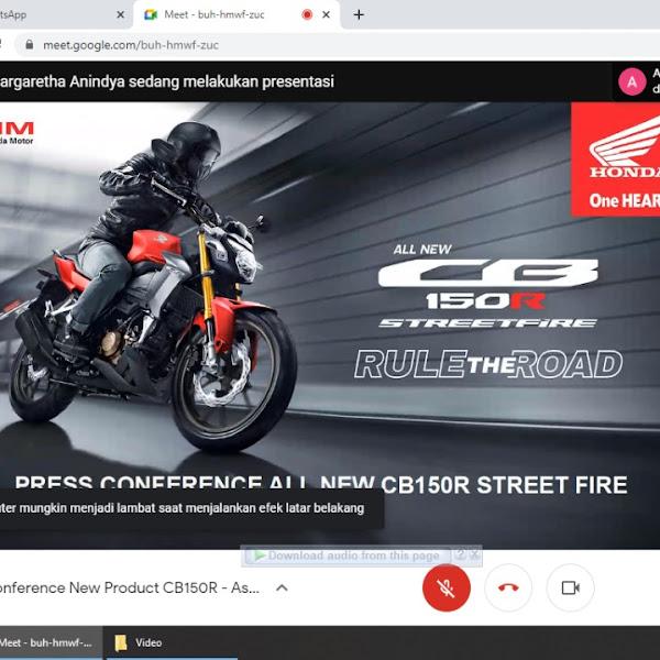 All New Honda CB150R StreetFire Resmi Launching di Kalimantan Barat