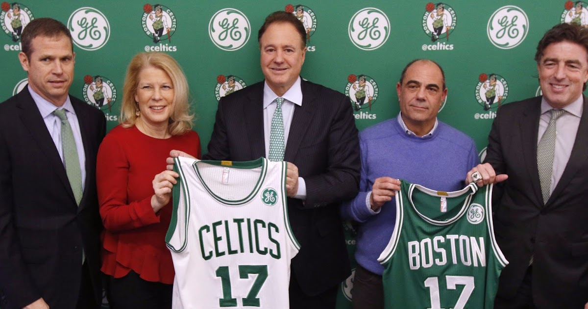 General Electric could be out as the sponsor of the Boston Celtics. Who could be a good replacement??