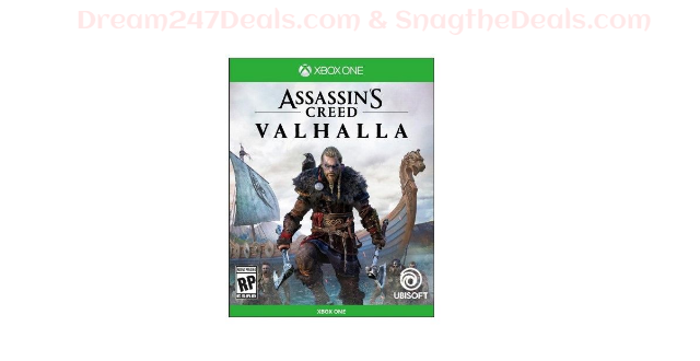 Assassin's Creed Valhalla  PS4 or XBOX ONE Release Date: 12/31/2020