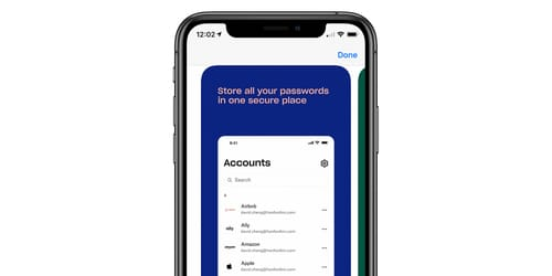Dropbox is called Password Manager and Security to store secret documents