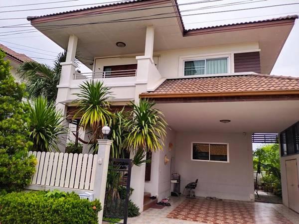 บ้านเดี่ยวหมู่บ้าน สุวรรณไม้งาม ในซอยมารวย 2 เขตสายไหม กรุงเทพมหานคร โทร 061-4622328 (เจ้าของขายเอง)