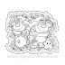 Among Us Super Mario e luigi Sticker para Colorir